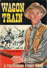 Wagon Train Television Storybook  #1964