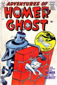 Adventures of Homer Ghost 1957 #2