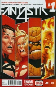 Fantastic Four (5th Series) 2013 - 2014 #1