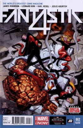 Fantastic Four (5th Series) #2