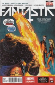 Fantastic Four (5th Series) 2013 - 2014 #3