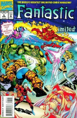 Fantastic Four Unlimited #5