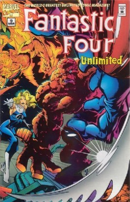 Fantastic Four Unlimited #9
