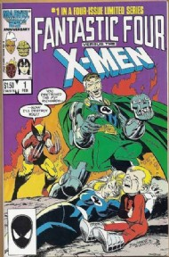 Fantastic Four Vs the X-Men 1987 - 1987 #1