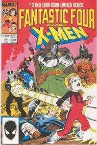 Fantastic Four Vs the X-Men 1987 - 1987 #3