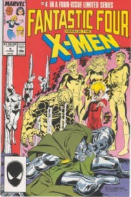 Fantastic Four Vs the X-Men 1987 - 1987 #4