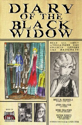 Diary of the Black Widow #1