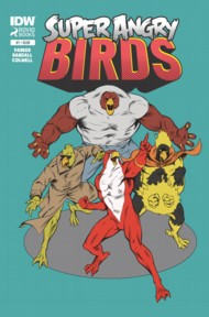 Angry Birds: Super Angry Birds  #1