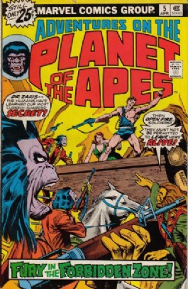Adventures on the Planet of the Apes #5