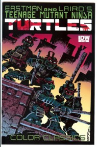 Teenage Mutant Ninja Turtles Color Classics (First Series) 2012-2013 #1