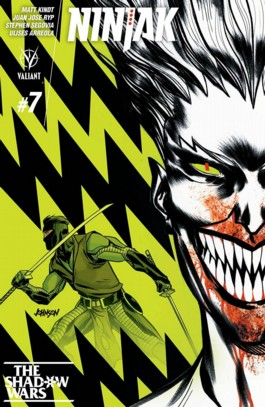 Ninjak (Valiant 2nd Series) #7