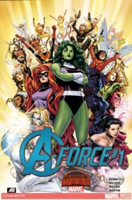 A-Force (1st Series) 2015 #1