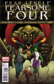Fear Itself: Fearsome Four 2011 #1