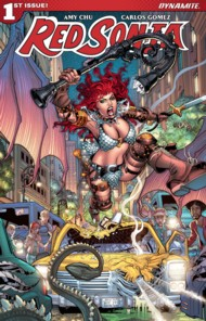 Red Sonja (Dynamite 4th Series) 2018 Vol.4 #1