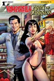Vampirella/Army of Darkness  #1