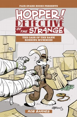 Hopper! Detective Of The Strange #1