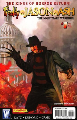 Freddy Vs Jason Vs Ash: the Nightmare Warriors #1