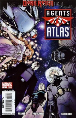 Agents of Atlas: Dark Reign #1