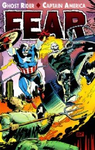 Ghost Rider / Captain America: Fear 1992 #0