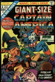 Giant Size Captain America 1975 #1