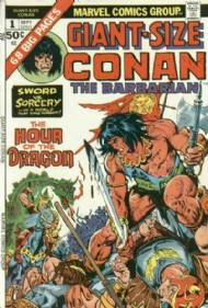 Giant Size Conan the Barbarian 1974 #1