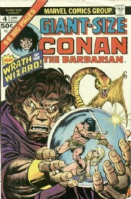 Giant Size Conan the Barbarian 1974 #4