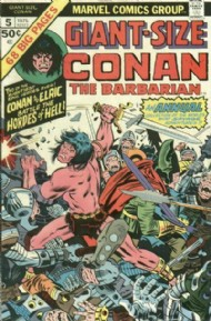 Giant Size Conan the Barbarian 1974 #5