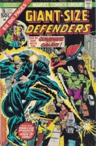 Giant Size Defenders 1974 #5