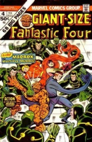 Giant Size Fantastic Four 1974 #4