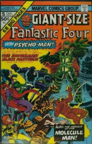 Giant Size Fantastic Four 1974 #5