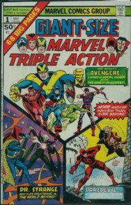 Giant Size Marvel Triple Action 1975 #1
