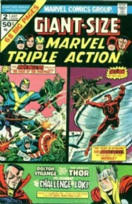 Giant Size Marvel Triple Action 1975 #2