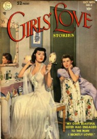 Girls' Love Stories 1949 - 1973 #2