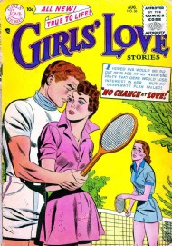 Girls' Love Stories 1949 - 1973 #36