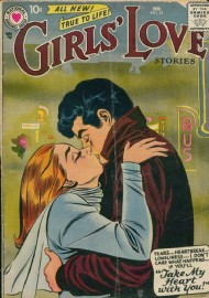Girls' Love Stories 1949 - 1973 #52
