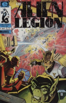 Alien Legion (1st Series) #7