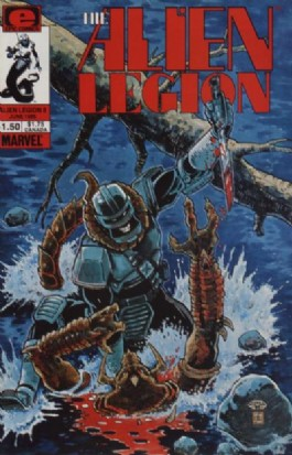 Alien Legion (1st Series) #8