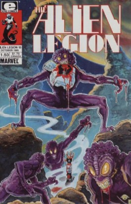 Alien Legion (1st Series) #10