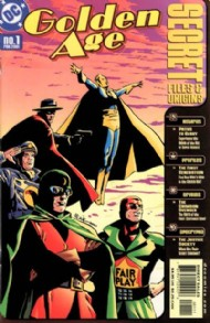 Golden Age Secret Files and Origins 2001 #1