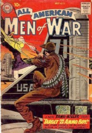 All American Men of War 1952 - 1966 #71