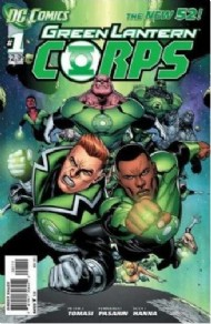 Green Lantern Corps (2nd Series) 2012 - 2015 #1