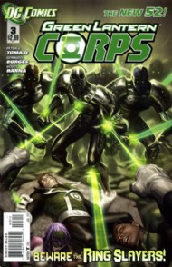 Green Lantern Corps (2nd Series) 2012 - 2015 #3