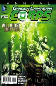 Green Lantern Corps (2nd Series) Annual 2013 #2