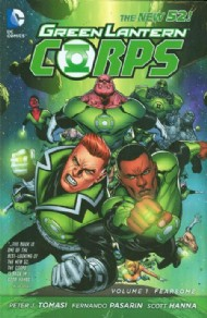 Green Lantern Corps (2nd Series): Fearsome 2012 #1