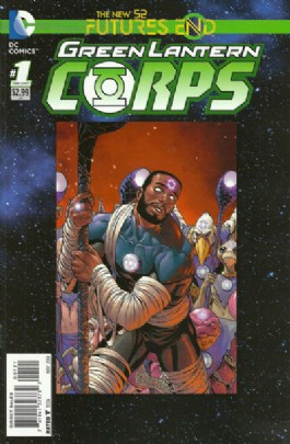 Green Lantern Corps (2nd Series): Futures End #1