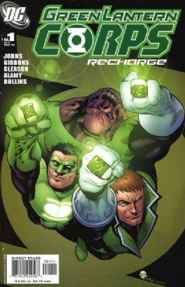 Green Lantern Corps: Recharge #1