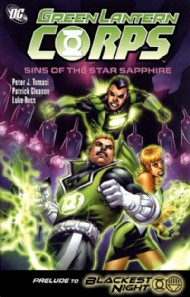 Green Lantern Corps: Sins of the Star Saphire 2009