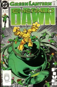 Green Lantern: Emerald Dawn 1989 - 1990 #5