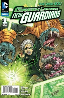 Green Lantern: New Guardians Annual #1