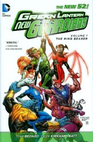 Green Lantern: New Guardians: the Ring Bearer 2012 #1